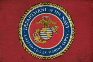 lantern_press_-_US_Marine_Flag