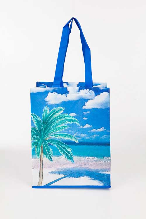 Palm Tree Recycled Tote Bags