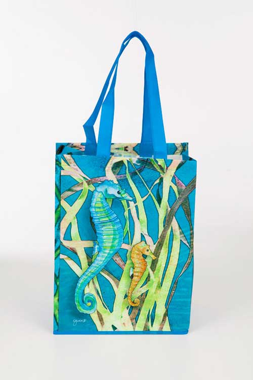 Seahorse_Recycled_Tote_Bag_-_Front